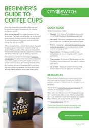 Beginner's Guide to Coffee Cups