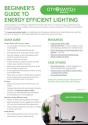 Beginner's Guide to Energy Efficient Lighting