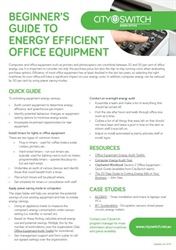 Beginner's Guide to Energy Efficient Office Equipment