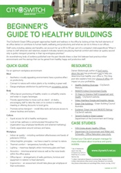 Beginner's Guide to Healthy Buildings