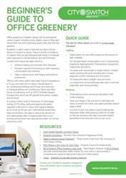 Beginner's Guide to Office Greenery