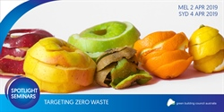 Targeting zero waste | Melbourne 2 April | Sydney 4 April