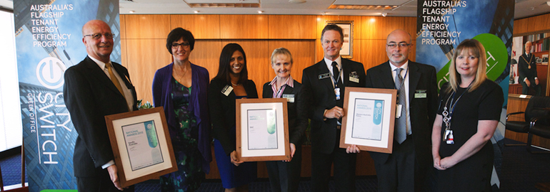 CitySwitch Perth Award winners